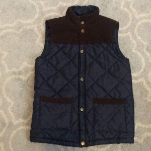 Boys quilted Vest